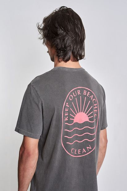 camiseta-keep-our-beaches-clean-cinza-old