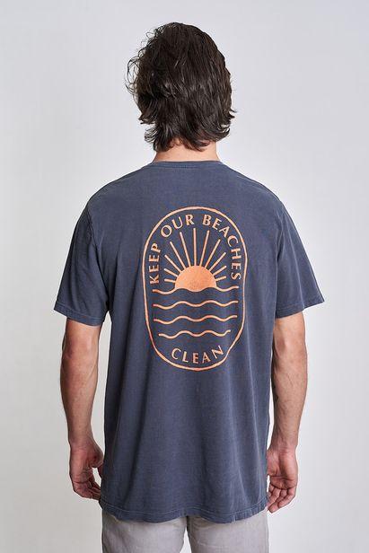 camiseta-keep-our-beaches-clean-azul-midnight